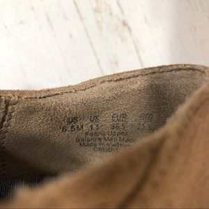Dr. Scholl's Shoes - Dr. Scholl's Ankle Booties tan suede memory foam